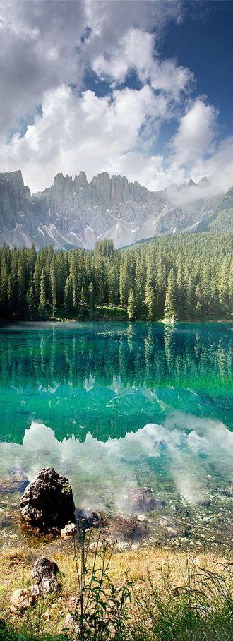 Lake Carezza (Bolzano), Trentino-Alto Adige, Italy