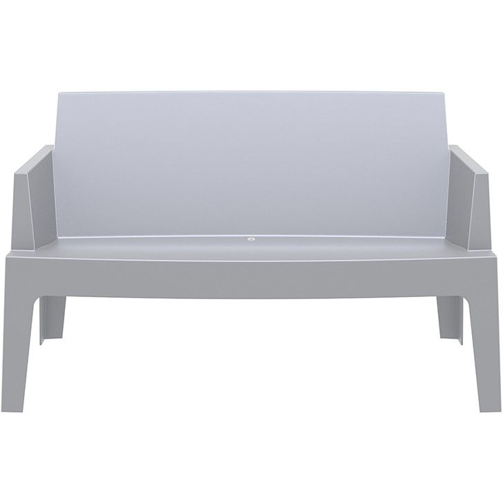 SIESTA | Box Sofa in Grey - Furniture - 5rooms.com