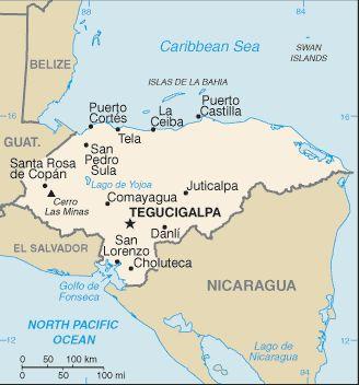 Alquiler de coches en Honduras