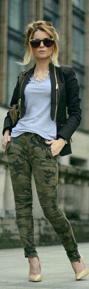 Camo / Fashion by Hypnotizing Fashion