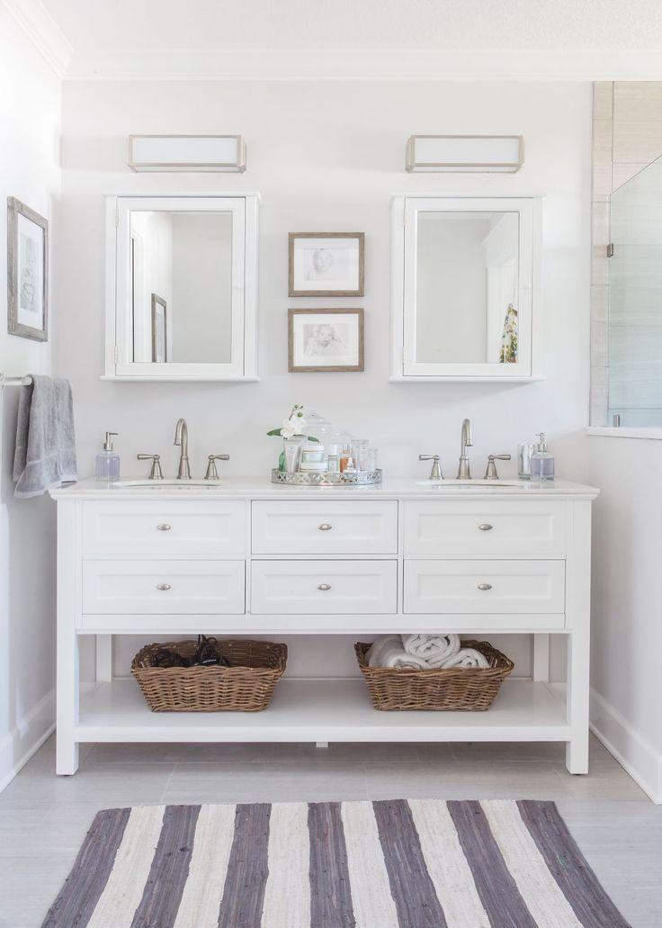 Best 25 White vanity bathroom ideas on Pinterest  White