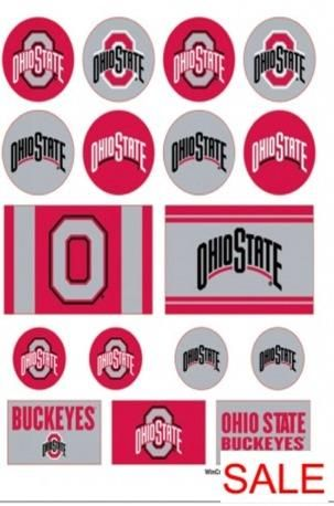 OHIO STATE BUCKEYES STICKERS