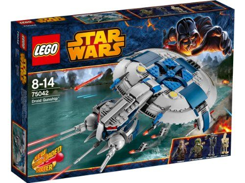 Lego Star Wars - 75042 - Jeu De Construction - Droid Gunship LEGO http://www.amazon.fr/dp/B00F3B3UXK/ref=cm_sw_r_pi_dp_.N7pwb0KC097E