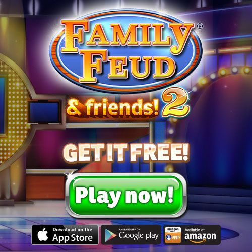 What is the best way to take #FamilyFeud on the go? Survey says: download the new game for free! Play Now! ▶ http://ludia.gg/Feud2: Family Fued, Play, Game, 500 500 Pixels