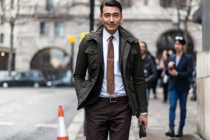 Dit is wat de meest stijlvolle mannen uit Londen dragen naar Fashion Week