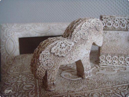 Декор предметов Коллекция Белое кружево Кружево фото 2