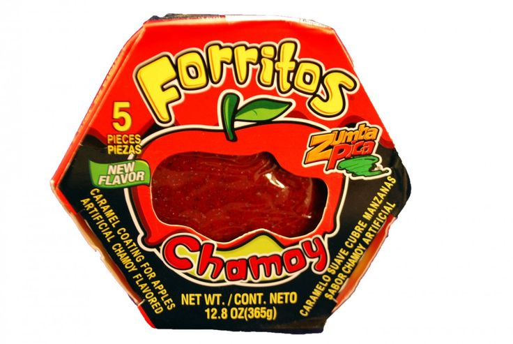 Zumba Pica Forritos Para Manzana Chamoy 5-piece pack count - My Mexican Candy