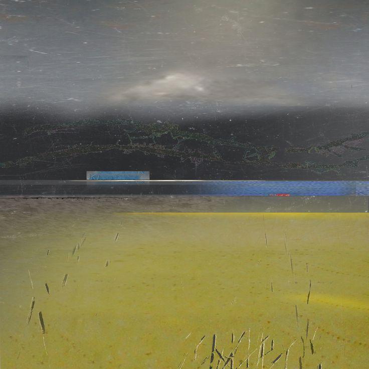 Hadeland 30x30cm  Etching/mixed media  Inger Karthum