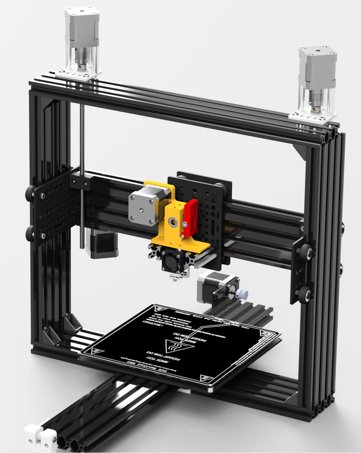 Voxel OX Extendable 3D Printer and CNC Platform 3d