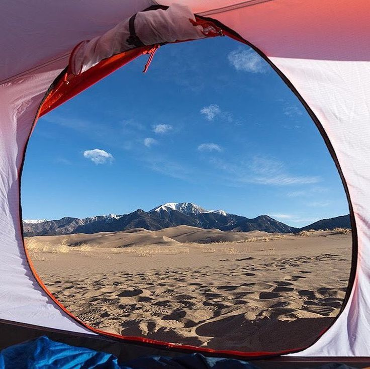 Camping at Great Sand Dunes National Park and Preserve ...
