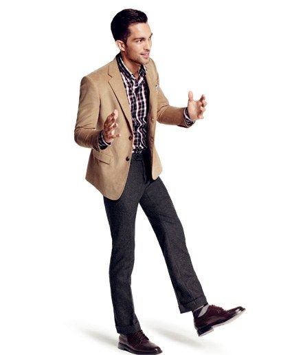 style 2010 09 new business casual jackets modern mans corduroy