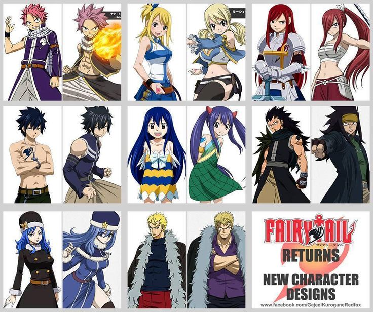 Character Design Vs Animation : Fairy tail google search pinterest
