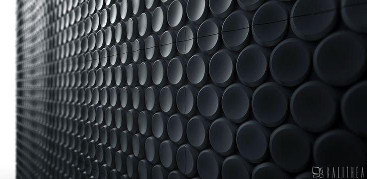 Bubbles wall panel. Kalithea