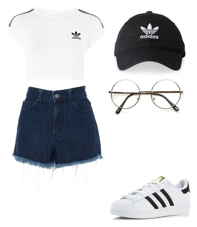"""""""jsnmssm"""" by juuhjuuh-ccxv on Polyvore featuring Amen Couture and adidas"""