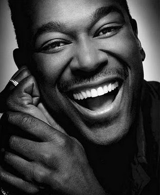 Luther Vandross  What a beautiful smile!!!!  My favorite male vocalist!  Nobody and I mean nobody can sing a song like this man...get chills thinking about it!: