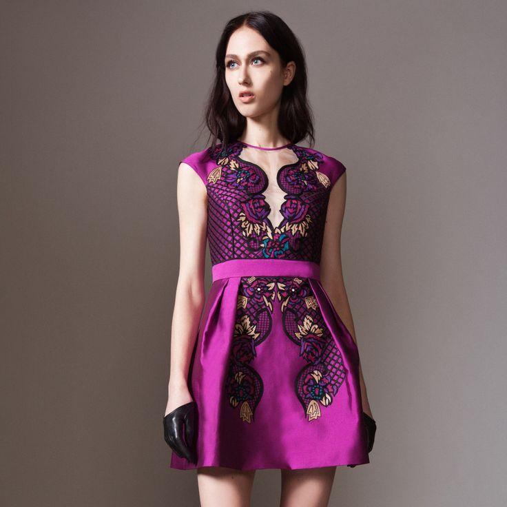 Orchid Short Dresses