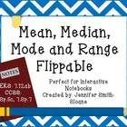 Ready to review the basics of Mean, Median, Mode and Range? This flippable has all that you need for your students to have a resource for the defin...