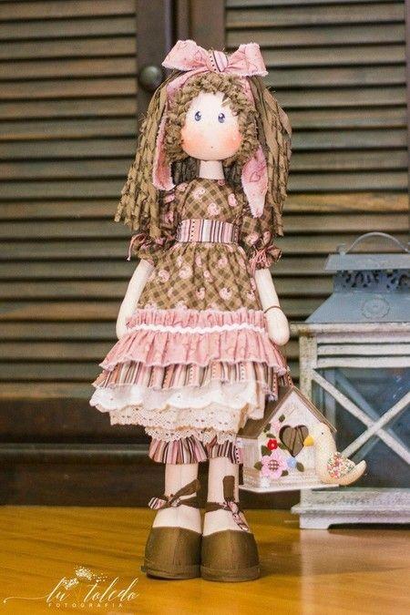 Luiza (kit completo) - Casinha de Bonecas
