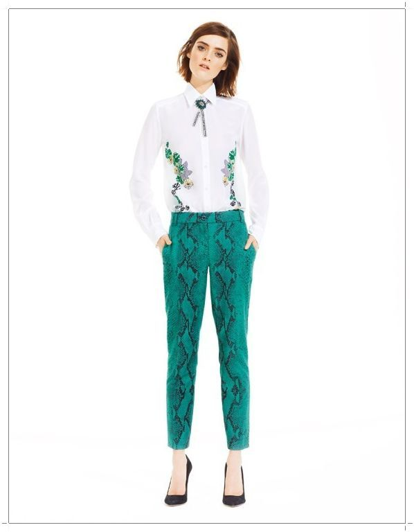 Spring Summer 2013 Womens Clothing [PHOTOS] Spring Summer 2013 clothing pants with python print