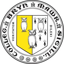 The seal for Bryn Mawr, one of the colleges in the consortium formerly known as the Seven Sisters, features three owls. Compare this to the seal for Rice University.