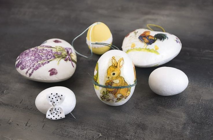 Kreatívny kurz Dekupáž technika na vajíčka