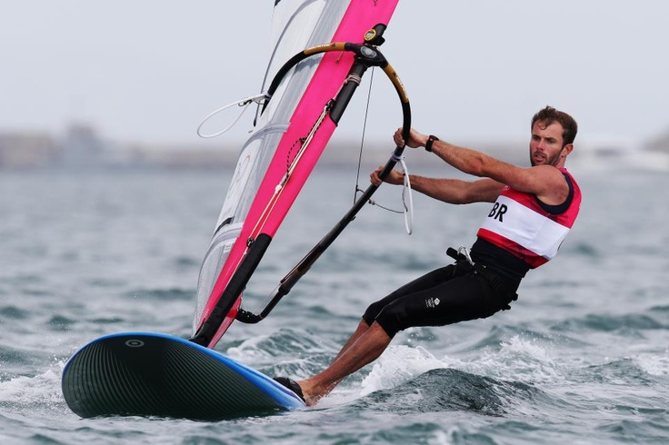 Nick Dempsey secures a Silver Medal in the Men's RS:X (Windsurfing)