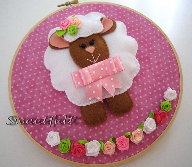 ♥♥♥ Méeméeee... para meninas fofinhas!! (Explore) by sweetfelt \ ideias em feltro, via Flickr