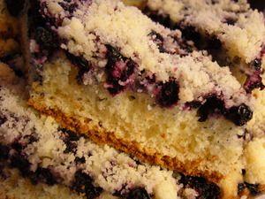 Черничный пирог (kidlog)