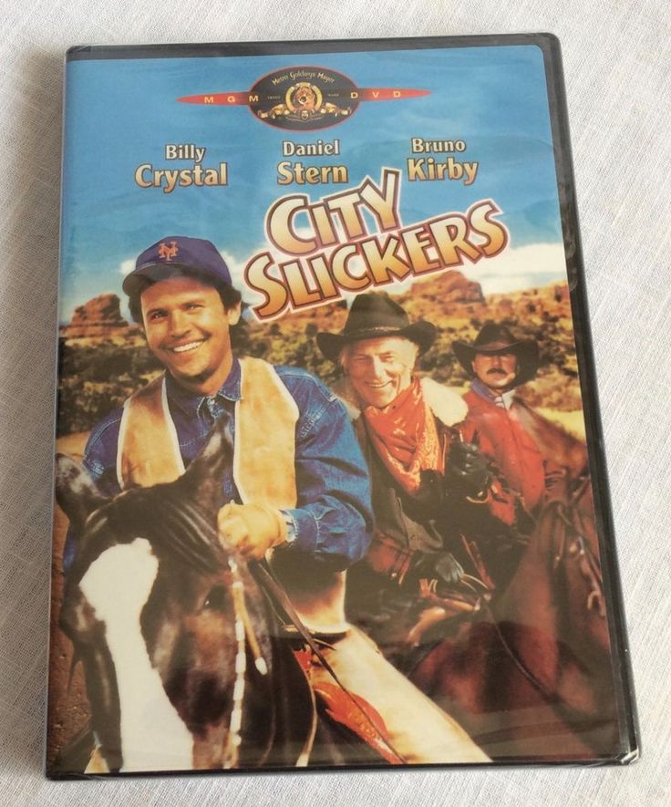 City Slickers 1991 Billy Crystal Daniel Stern Bruno Kirby New Sealed DVD
