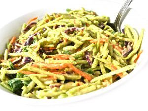 Broccoli Slaw. Image from: http://www.skinnykitchen.com/recipes/super-low-calorie-honey-mustard-broccoli-slaw/
