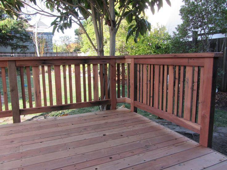 redwood railing - Google Search
