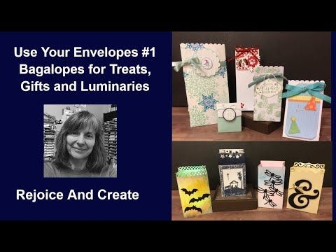 Use Your Envelopes #1: Bagalopes for Treats, Gifts…