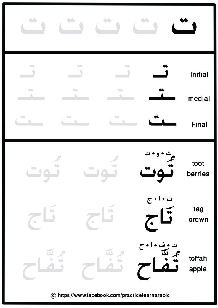 Learn to read and write the Arabic Alphabet (Free Video ...