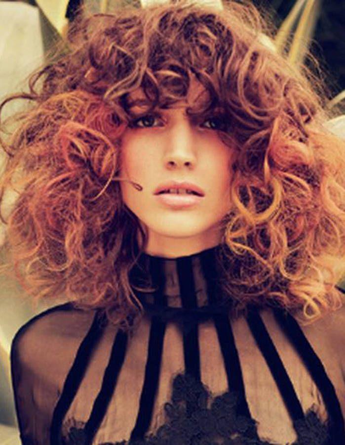 Cheveux bouclés naturellement automne-hiver 2016 - Cheveux bouclés ...