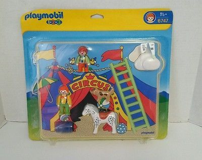 Playmobil Puzzle Circus Friends Set #6747 New Playmobil 123