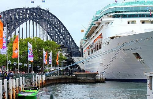 Rhapsody of the Seas in Sydney.