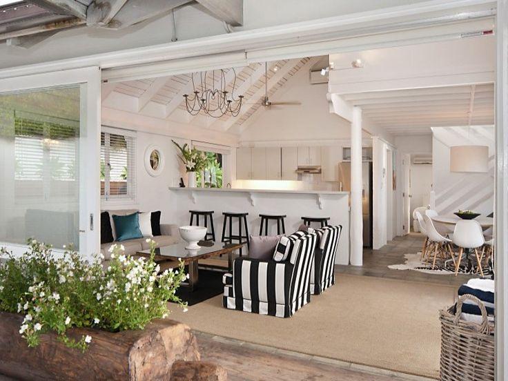 desire to inspire - desiretoinspire.net  Indoor outdoor living, great open concept space