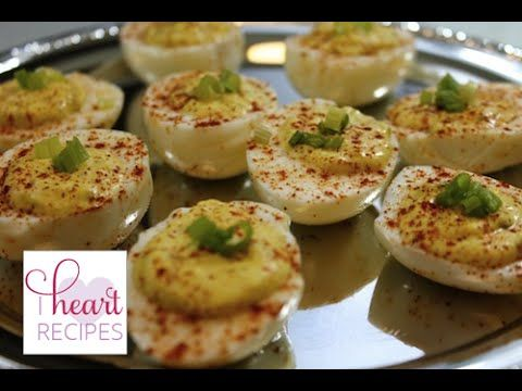 Recipes Deviled Eggs : How to Make Easy Delicious Deviled Eggs  I Heart Recipes