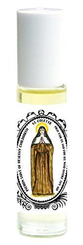 St Colette Patron of Healthy Childbirth Roll on Body Oil