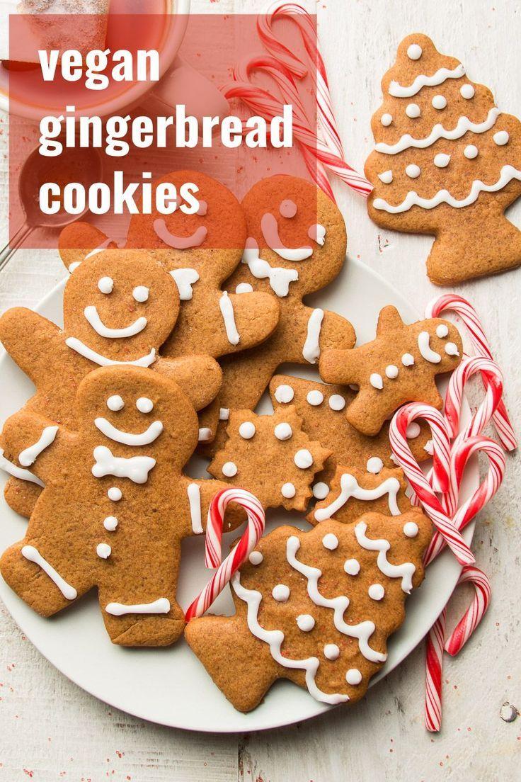 Vegan Gingerbread Cookies In 2020 Vegan Gingerbread Cookies Vegan Gingerbread Gingerbread Cookies