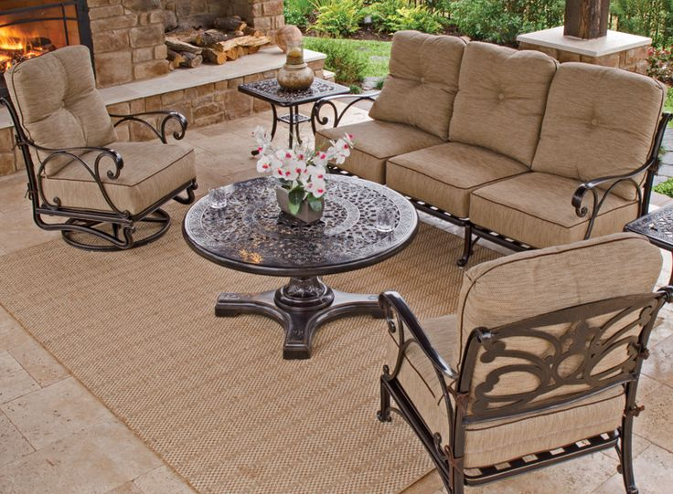 Aluminum Patio Furniture best 25+ cast aluminum patio furniture ideas on pinterest