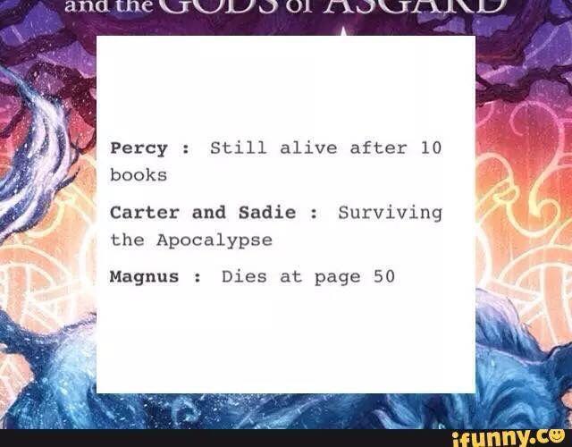 Percy Jackson sadie carter cane magnus chase