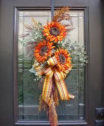 fall decorations -love this with a different color ribbon maybe burgandy