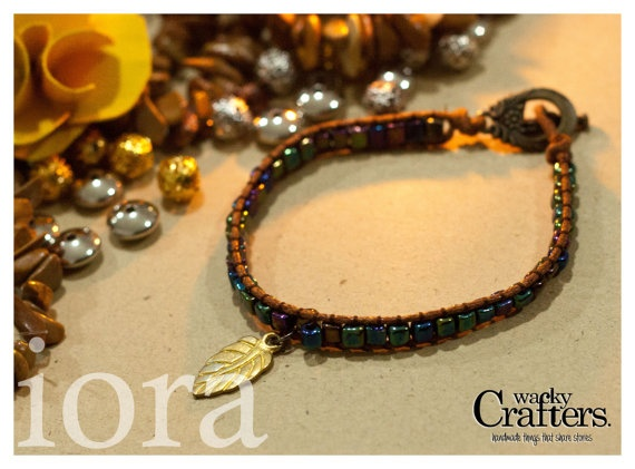 iora beaded braclet symbol of passion by WackyCrafters on Etsy, $7.50