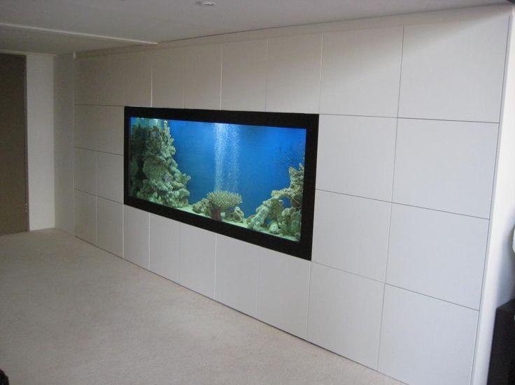 Polyurethane Storage Wardrobe with Custom Fish Tank