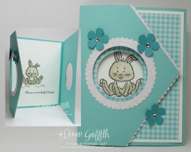 Two For Thursday Peek A Boo Flap Card Videos In 2020 Stampin