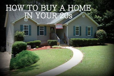 mrandmrswinslett: How to Buy a House in your 20s: Part Two