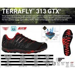 Inov-8 Terrafly 313 GTX, pantofi pentru alergare si trekking