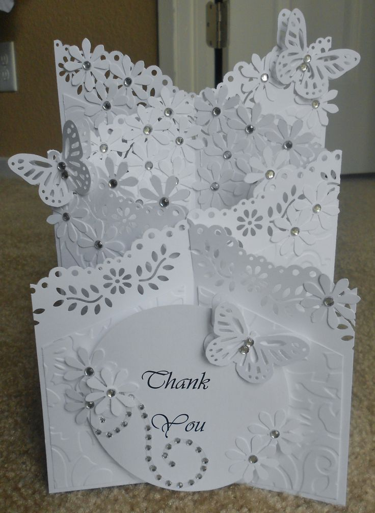 Gorgeous card, found on etsy at http://oneofakinds.storenvy.com/products/8609868-thank-you-cascade-card