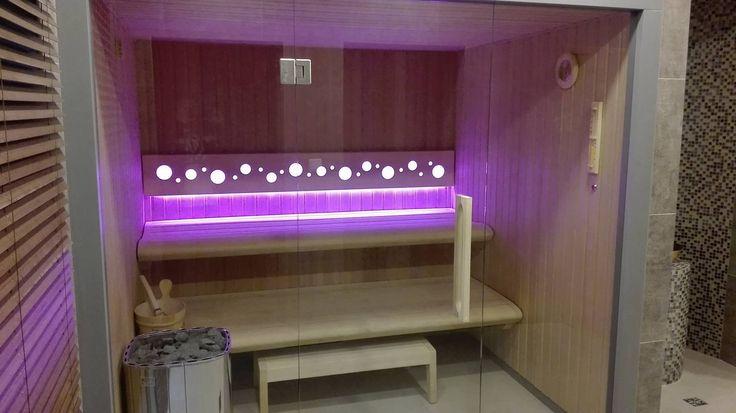 Sauna Comfort Line w Hotelu Wodnik w Łebie #saunaline #leba @saunaline #producentsaun #saunadomowa